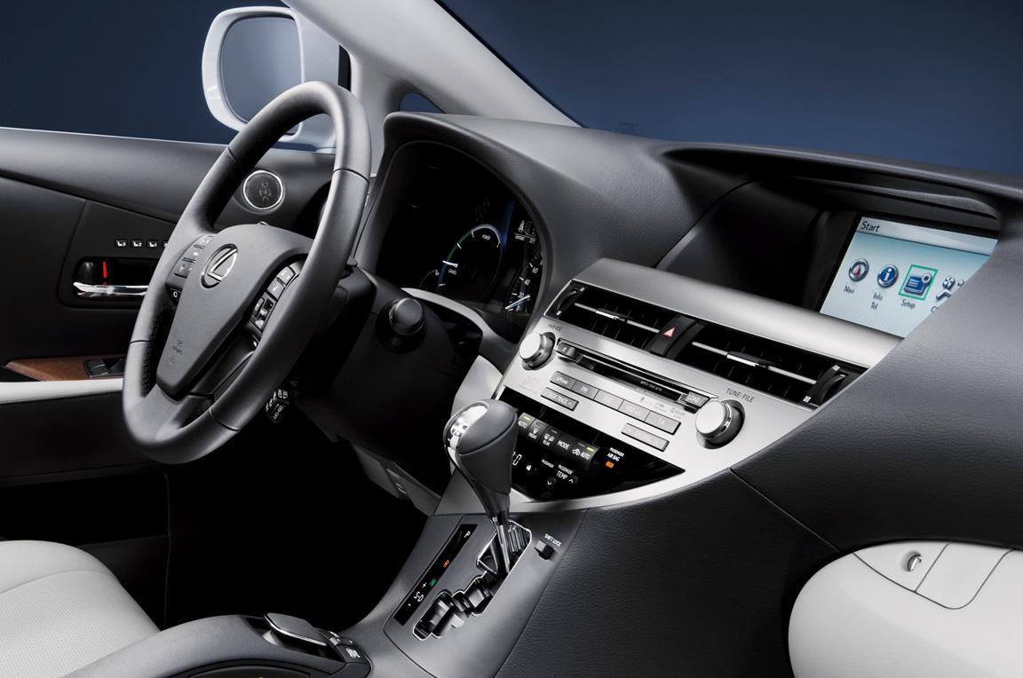 Lexus RX450h: кроссовер не традиционной автоориентации