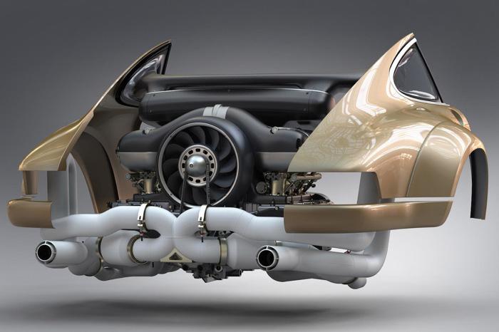 Двигатель для Porsche 911