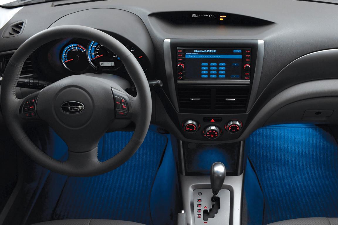 Subaru Forester Интерьер