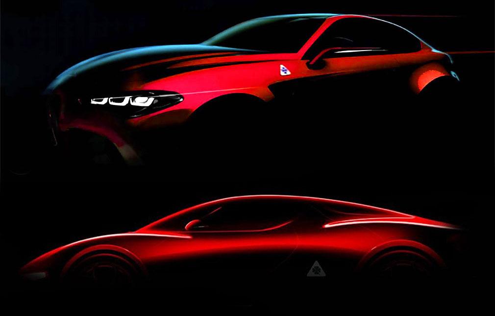 Alfa Romeo вернет в строй спорткары GTV и 8C