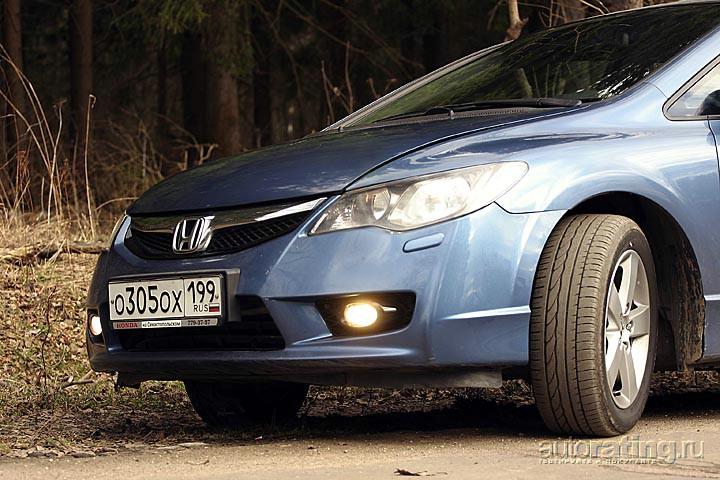 Тест-драйв Honda Civic: Экспрессия и скорость