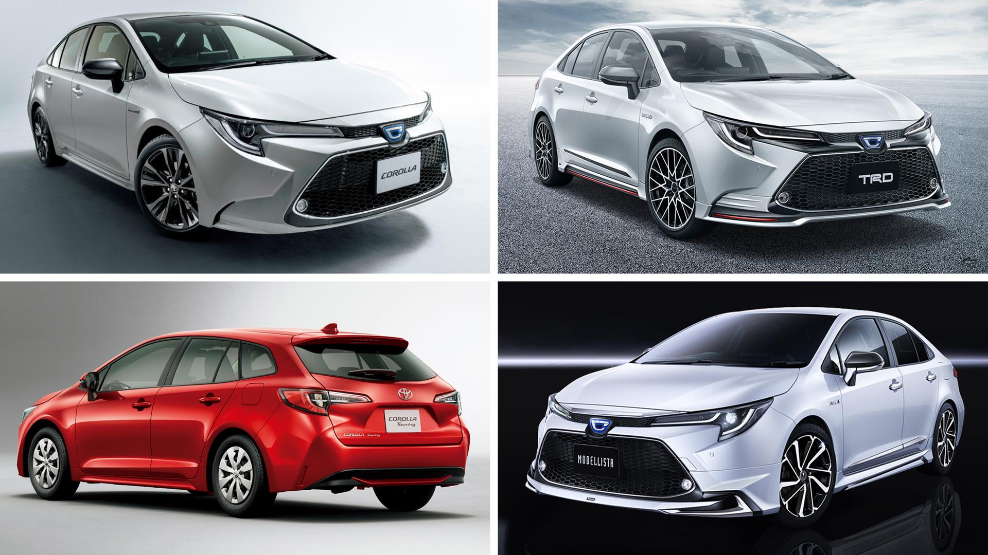 Компактные Toyota Corolla