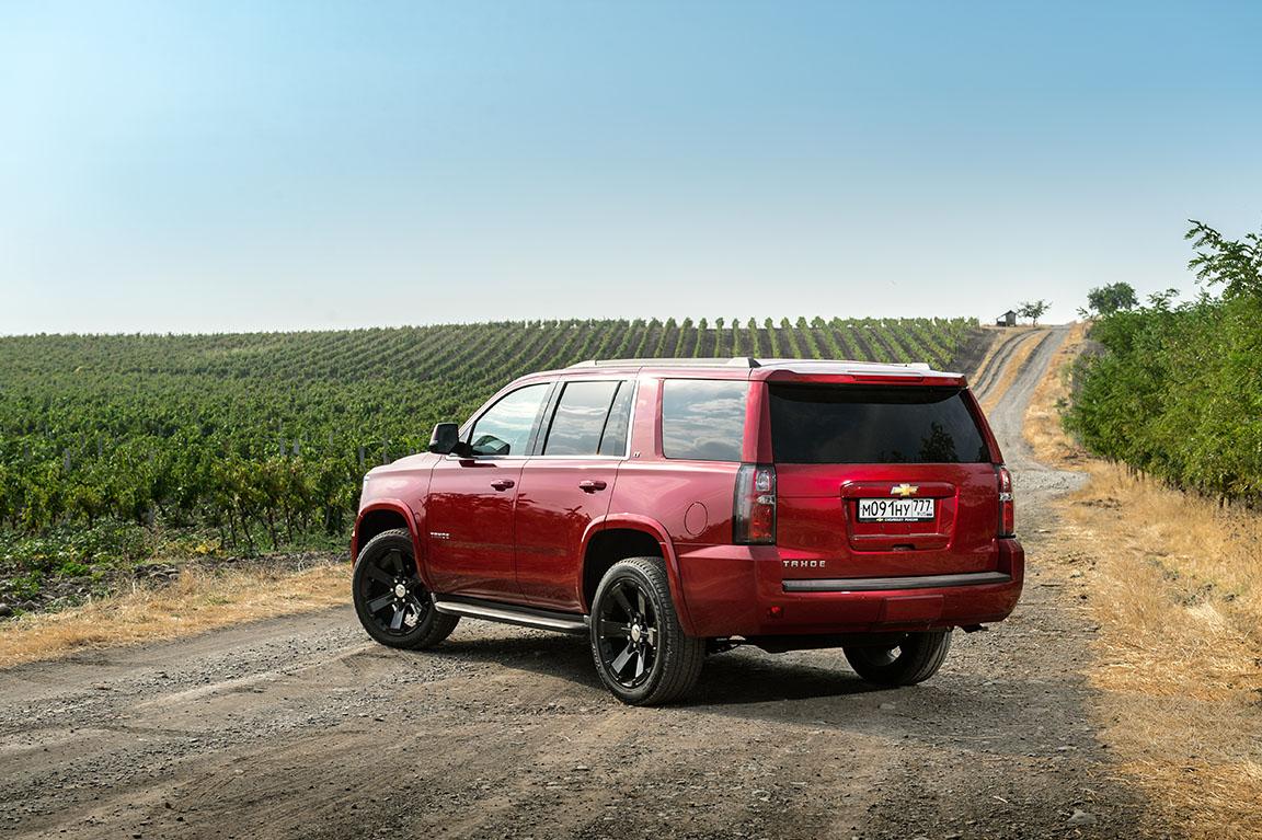 Chevrolet Tahoe: Американская легенда в новом свете