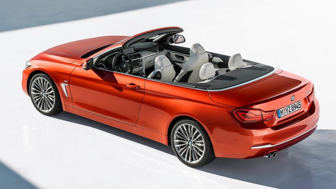 BMW 4 серии Cabrio 2018