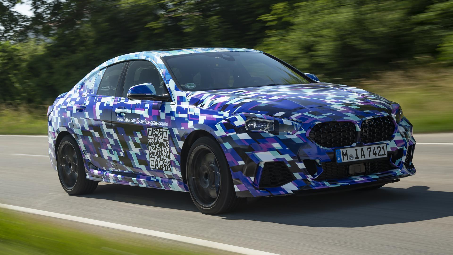 BMW готовит Gran Coupe 2 серии