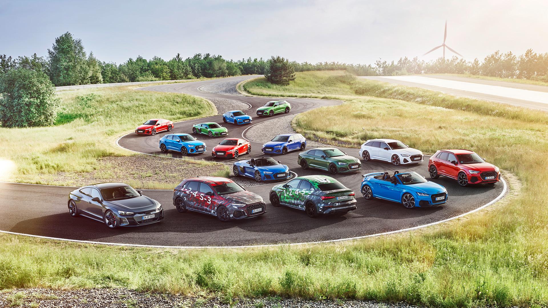 Audi RS range 2022