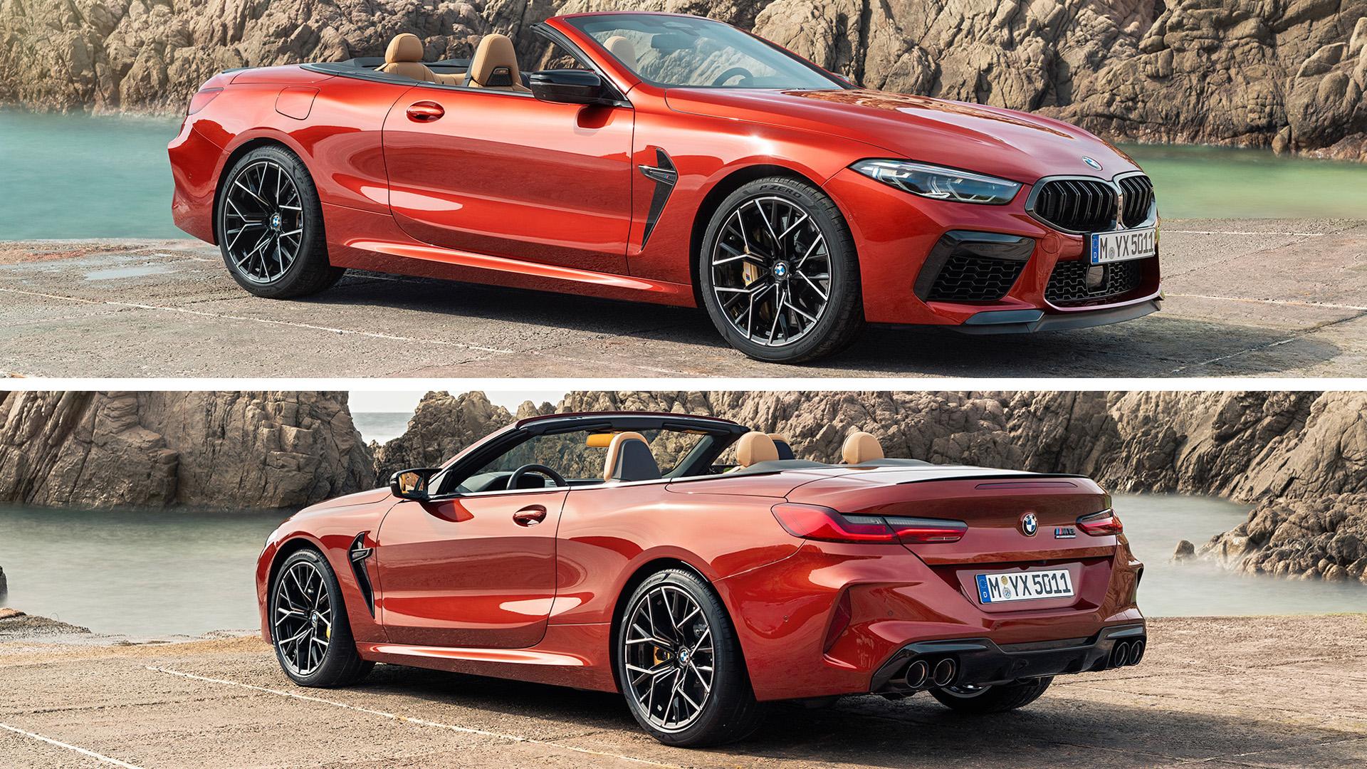 BMW M8 Кабриолет 2020