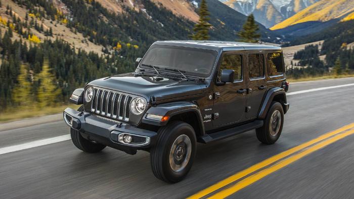 Jeep Wrangler нового поколения