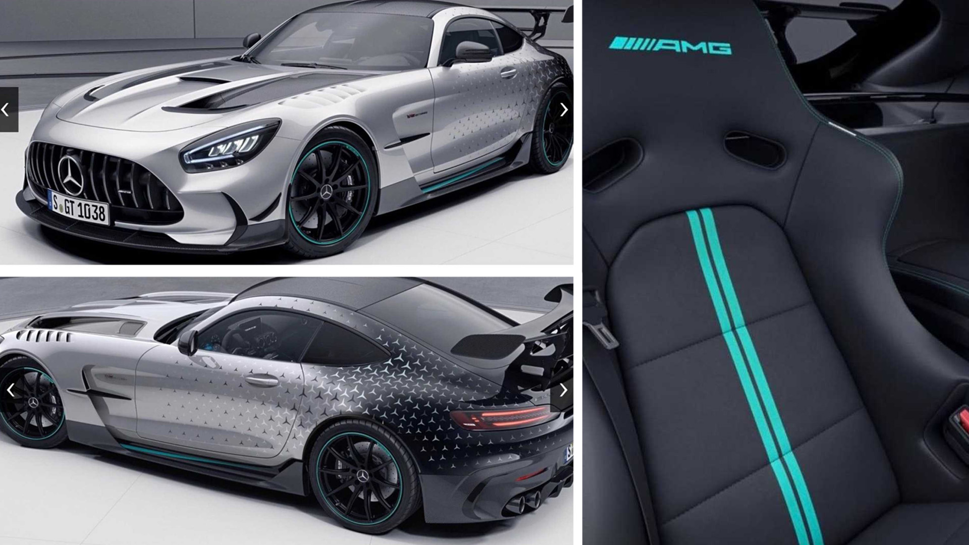 Mercedes-AMG GT Black Series GT Black Series в специальном исполнении P One Edition