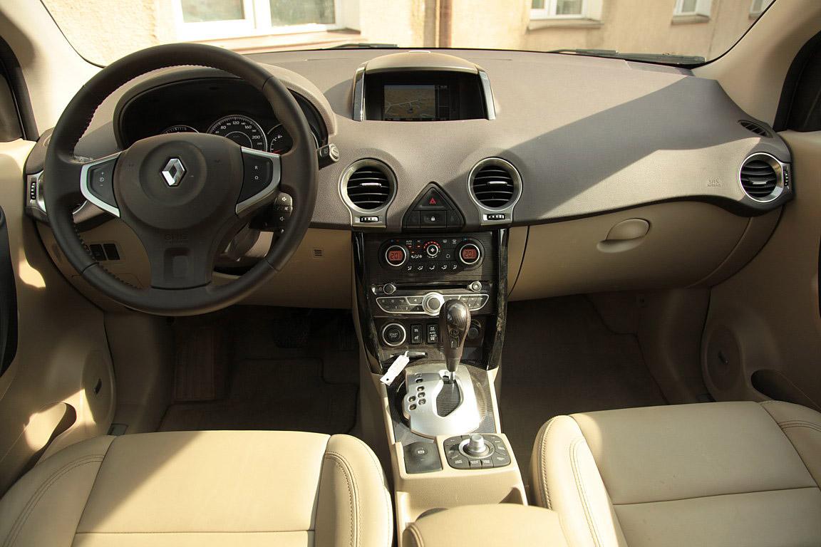 Снимаем пробу с Renault Koleos
