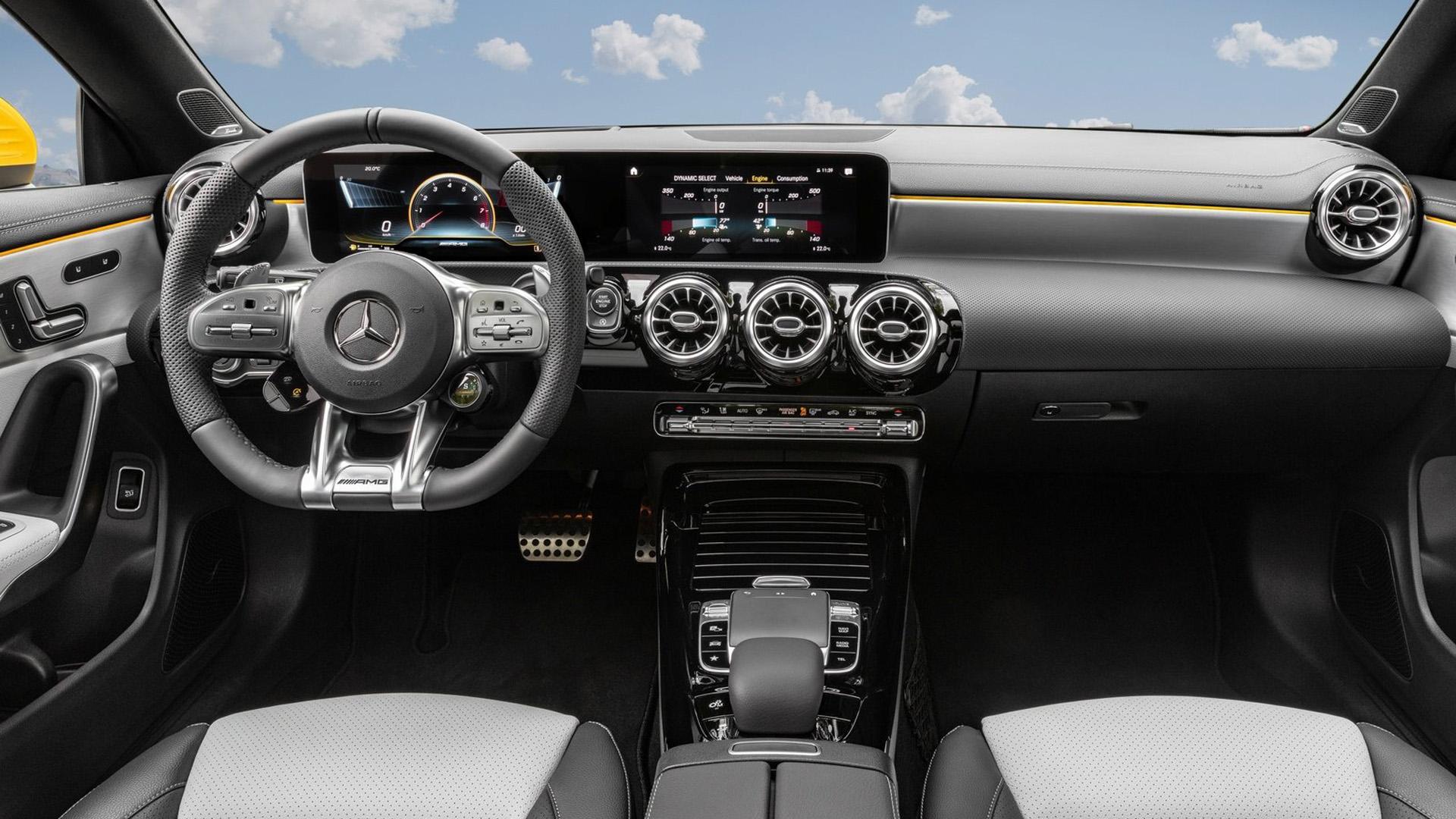 Mercedes CLA35 AMG 4Matic Shooting Brake