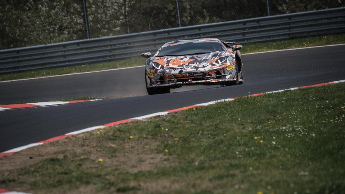 Lamborghini Aventador SVJ установил рекорд трассы Нюрбургринг