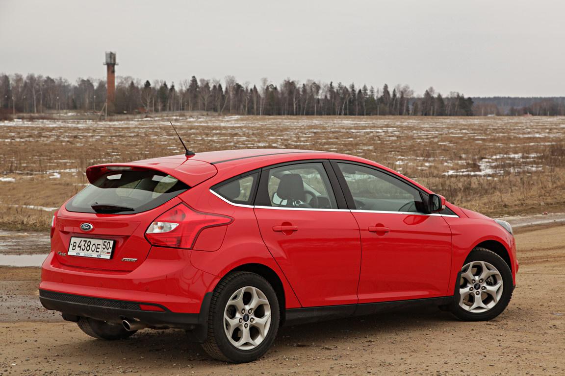 Ford Focus Sport: Энергичный