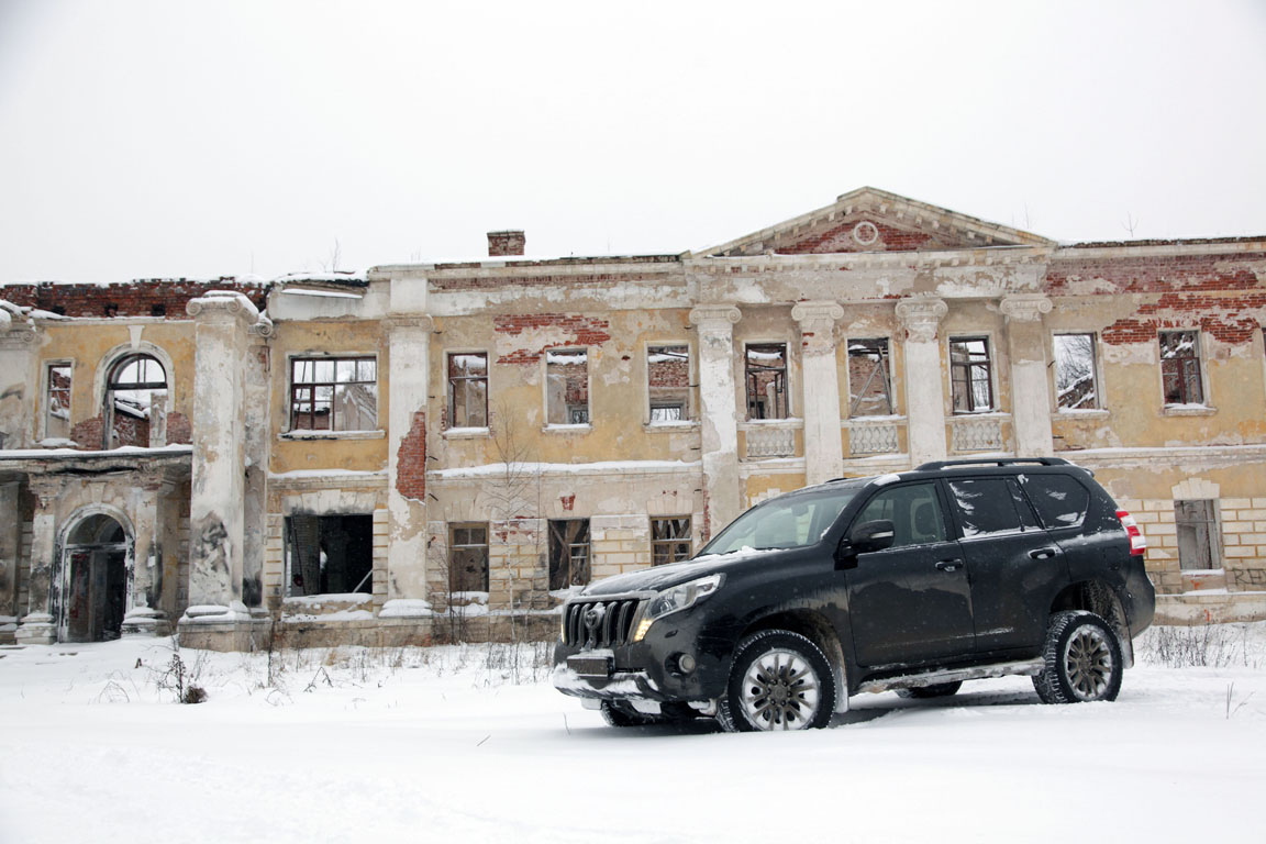 Toyota Land Cruiser Prado: Зимний драйв