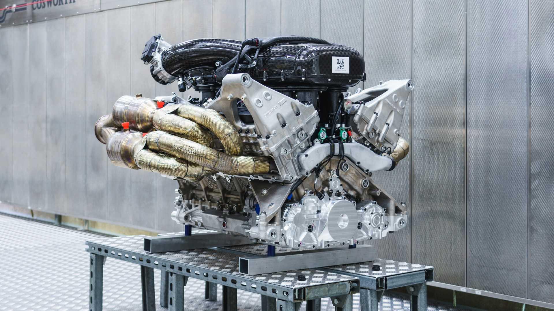 Гиперкар Aston Martin Valkyrie: мотор