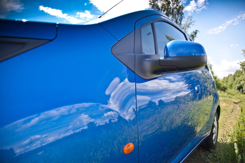 Chevrolet Spark: Игры в «Трансформеров»