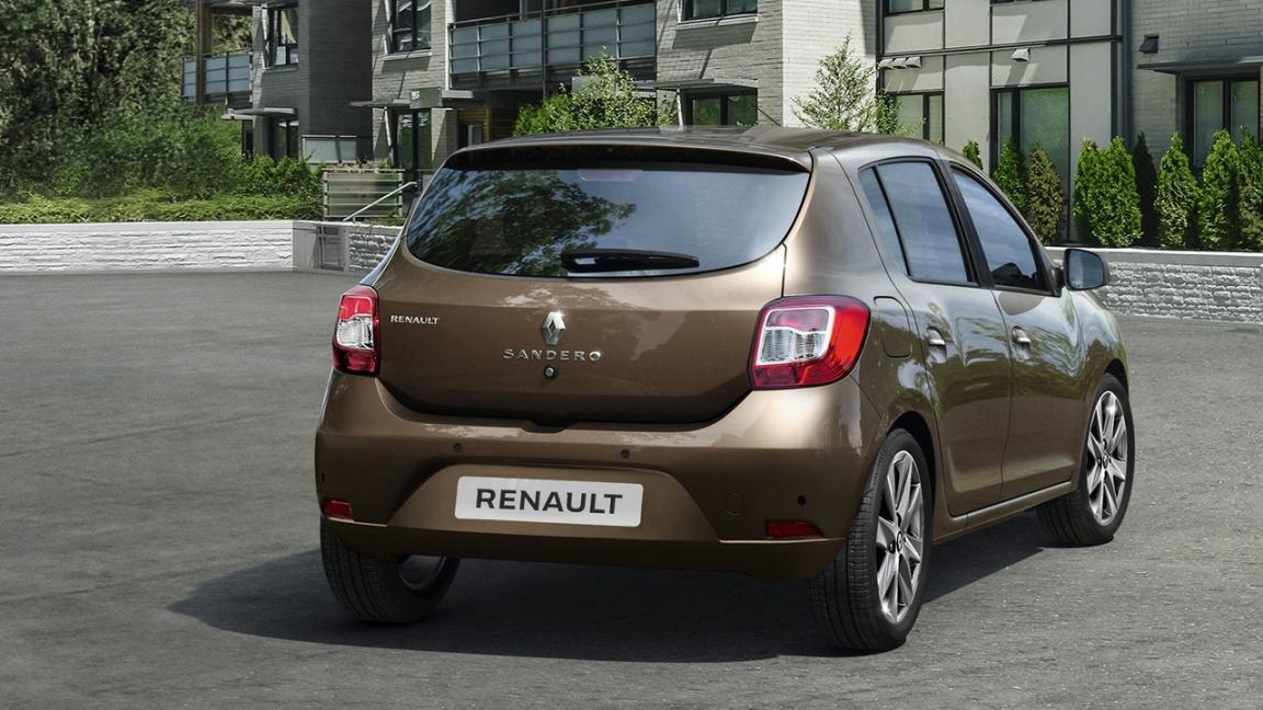 Обновленный Renault Sandero