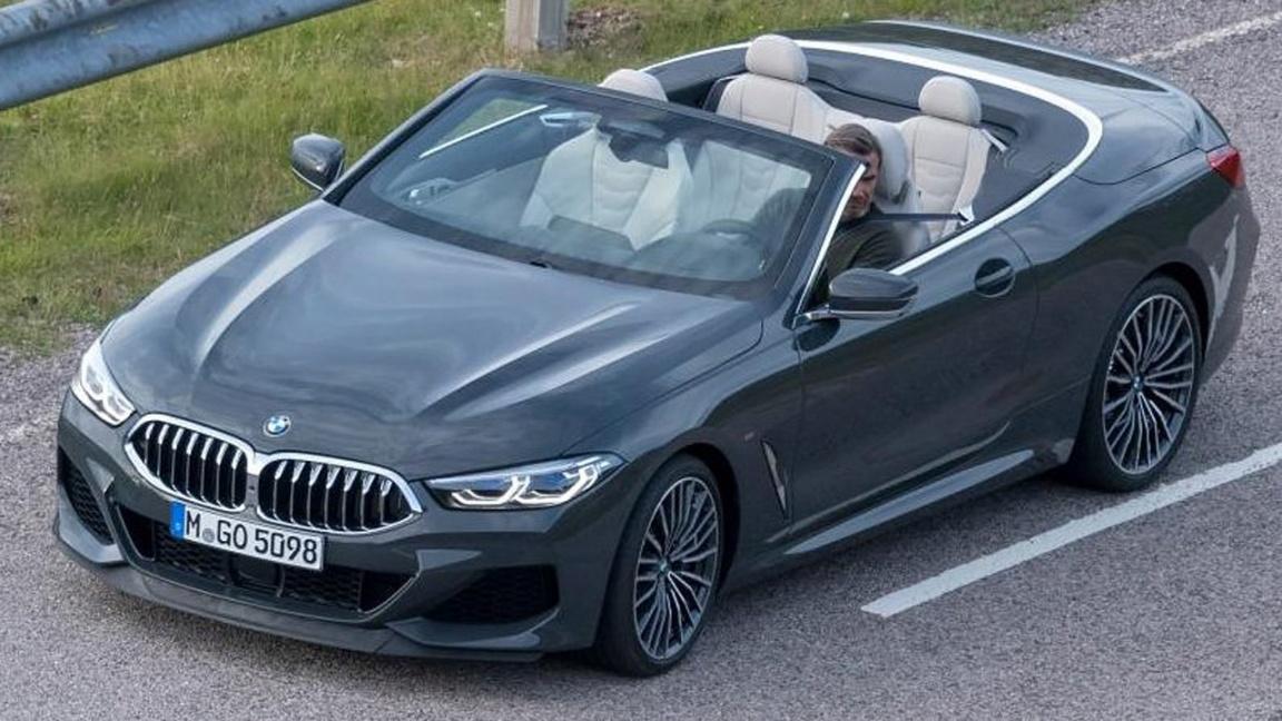 BMW 8 серии кабриолет