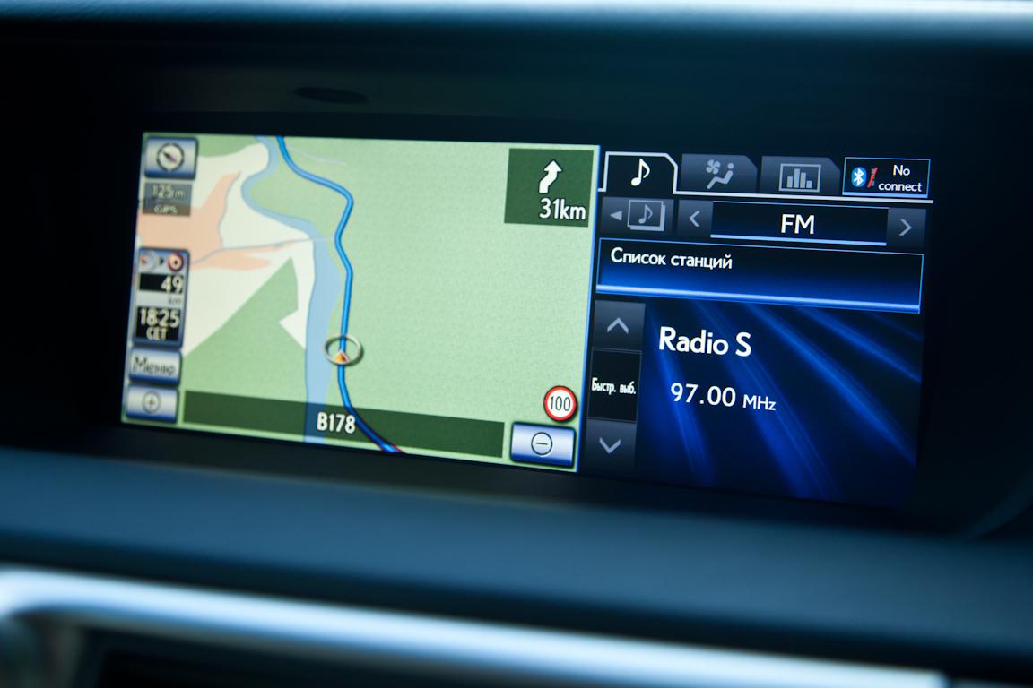 Lexus GS 450h: Экологически верный