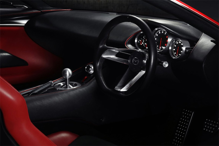 Mazda привезла в Женеву концепт RX-VISION