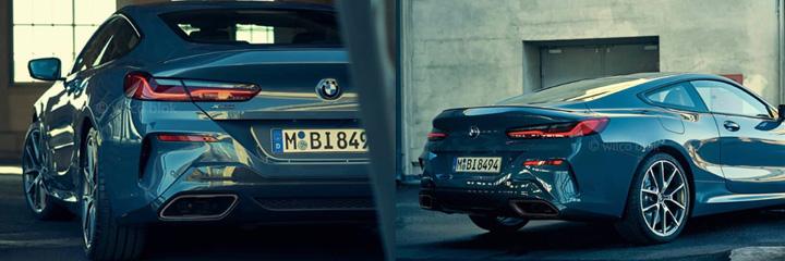 Первые фотографии BMW 8 серии